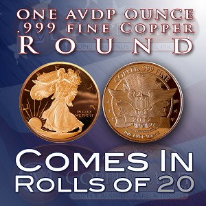 One Ounce Rounds: Walking Liberty